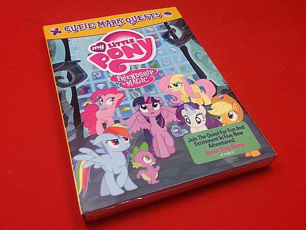 My Little Pony Cutie Mark Quests DVD
