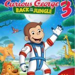 Curious George 3: Back to The Jungle DVD