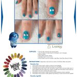 Disney Inside Out Sadness Nail Art Tutorial
