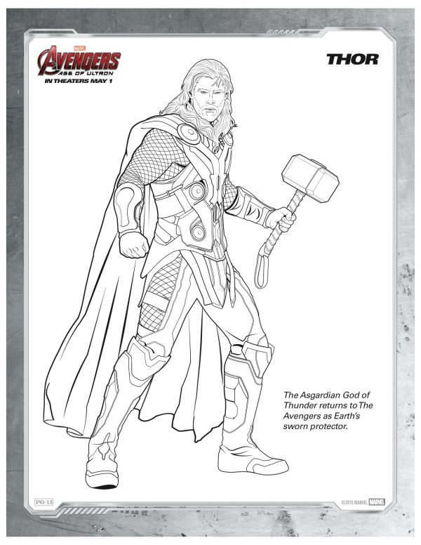 Free Printable Marvel Characters Coloring Pages, Download Free ... | 776x600