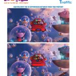DreamWorks Home Spot the Difference Activity Page