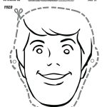 Free Scooby Doo Printable Fred Mask