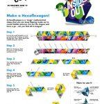 Disney Inside Out Hexaflexagon Craft