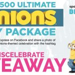 Minions $500 Party Package Giveaway – EXPIRED