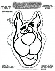 Free Printable Scooby Doo Mask