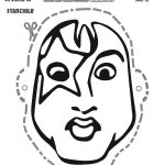 Free Printable Scooby Doo & KISS Starchild Mask