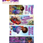 DreamWorks Home Printable Bookmark Craft