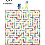 Disney Inside Out Printable Crazy Maze