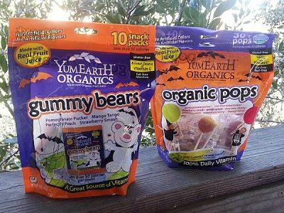 YumEarth Organics for Halloween