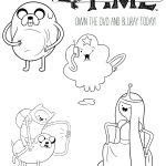 Free Printable Adventure Time Coloring Page