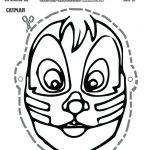 Free Printable Scooby Doo KISS Catman Mask