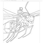 Free Marvel Ant-Man Printable Coloring Page