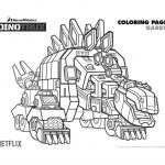 Free Dinotrux Garby Printable Coloring Page