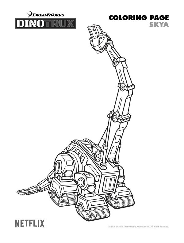 dinotrux coloring pages free dinotrux skya coloring page mama likes this