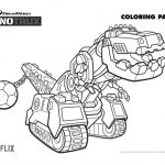 Free Printable Dinotrux Ty Coloring Page