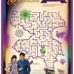 Disney Descendants Printable Magical Maze
