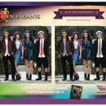 Disney Descendants Spot The Differences Activity Page
