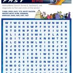 Free Printable Turbo Fast Word Search