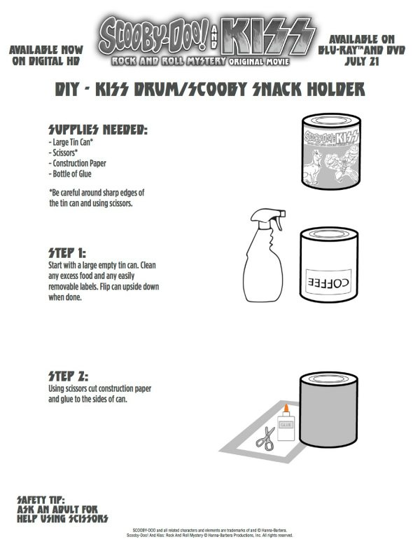 Scooby Snack Container Craft