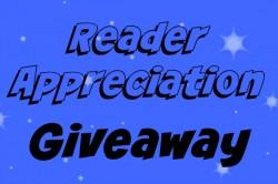 Reader Appreciation Giveaway