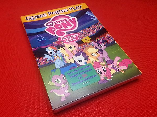 My Little Pony Friendship Is Magic: Games Ponies Play DVD