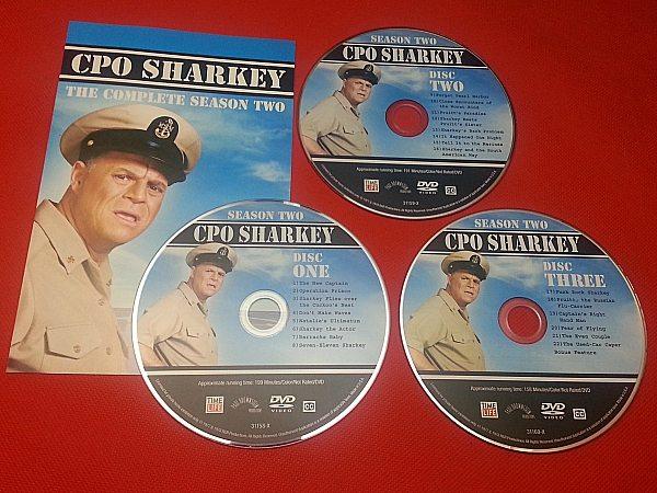 CPO Sharkey Season 2 DVD Set