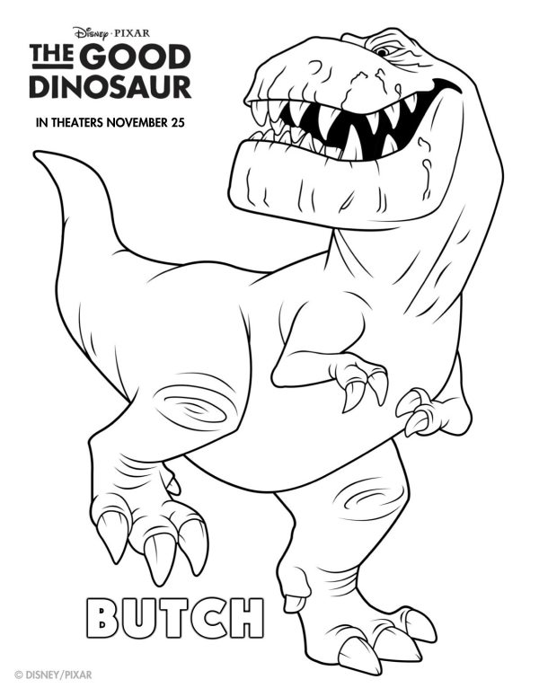 disney dinosaur coloring pages - photo#33