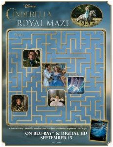 Free Printable Disney Cinderella Royal Maze