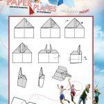 Free Printable Hawkeye Paper Airplane Tutorial