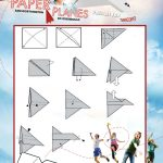 Free Printable Shuttle Paper Airplane Tutorial