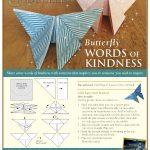 Disney Cinderella Origami Butterfly Craft