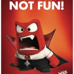 Disney Inside Out Anger Free Printable Halloween Sign