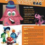 Disney Inside Out Bing Bong Halloween Treat Bag Craft