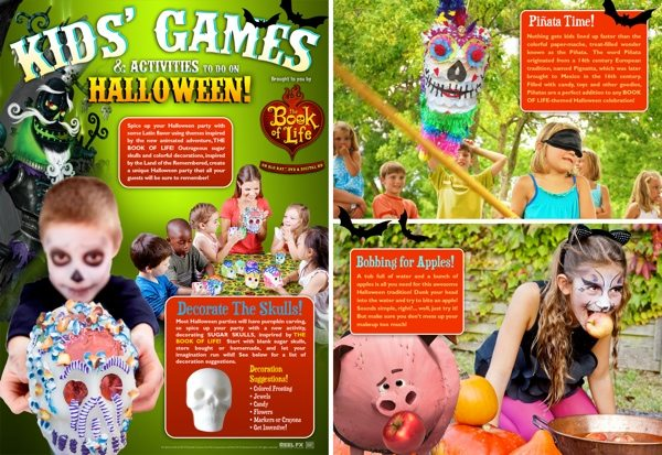 Book of Life Day of The Dead Party Games