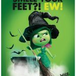 Disney Inside Out Disgust Free Printable Halloween Sign