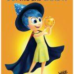 Disney Inside Out Joy Free Printable Halloween Sign