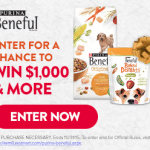 Purina Beneful Sweepstakes – EXPIRED
