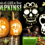 Free Printable Sugar Skull Pumpkin Templates