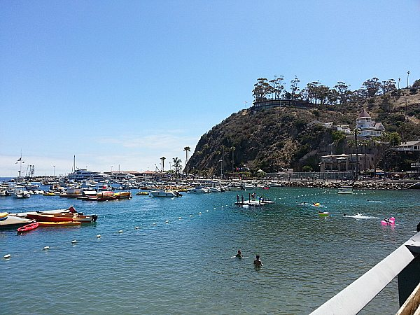 Carnival Inspiration Shore Day On Catalina Island Mama