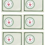 Free Printable Happy Holidays Christmas Gift Tags