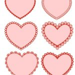 Free Printable Valentine Hearts