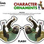 Disney Zootopia Flash Ornament Craft