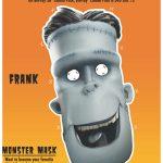 Hotel Transylvania Frank Mask Craft
