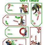 Free Printable Disney Zootopia Holiday Gift Tags