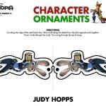 Disney Zootopia Judy Hopps Holiday Ornament Craft