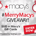 $50 Macy's Gift Card Giveaway – EXPIRED