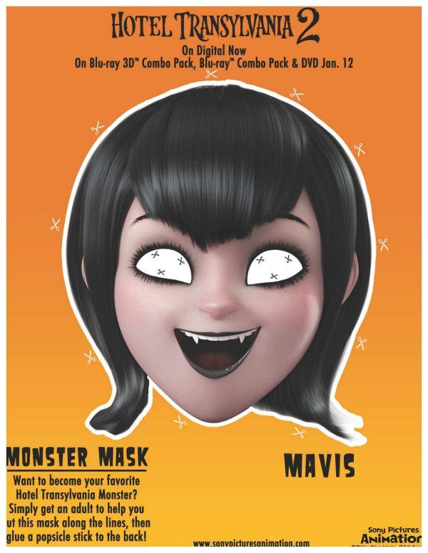 Hotel Transylvania Mavis Mask Craft