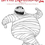 Free Hotel Transylvania Printable Murray Coloring Page