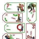 Free Printable Disney Zootopia Spanish Holiday Gift Tags