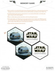 Star Wars: The Force Awakens Free Printable Memory Game